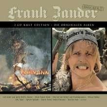 Frank Zander: Wahnsinn / Zander's Zorn - Kult Edition/Original Alben, 2 CDs