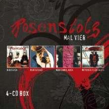 Rosenstolz: Mal Vier, 4 CDs