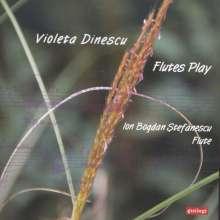 """Violeta Dinescu (geb. 1953): Musik für Flöte solo """"Flutes Play"""", CD"""