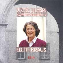 Viktor Ullmann (1898-1944): Klaviersonaten Nr.1-4, CD