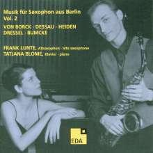 Frank Lunte - Musik für Saxophon aus Berlin Vol.2, CD