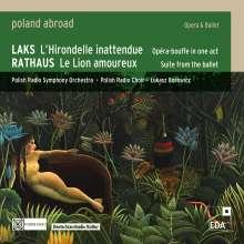 Simon Laks (1901-1983): L'Hirondelle inattendue (Oper in einem Akt), CD