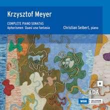 Krzysztof Meyer (geb. 1943): Klaviersonaten Nr.1-6, 2 CDs
