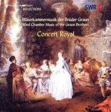 Concert Royal -Bläsermusik von J.Gottlieb & C.Heinrich Graun, CD