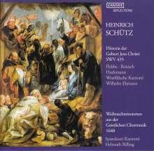 Heinrich Schütz (1585-1672): Historia der Geburt Jesu Christi SWV 435, CD