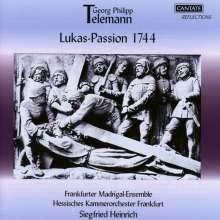 Georg Philipp Telemann (1681-1767): Lukas Passion (1744), 2 CDs