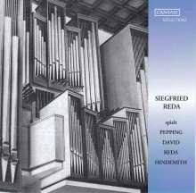 Siegfried Reda spielt Pepping, David, Reda, Hindemith, CD