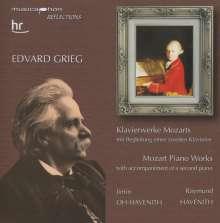 Edvard Grieg (1843-1907): Klaviermusik von W.A.Mozart, CD