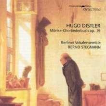 Hugo Distler (1908-1942): Mörike-Chorliederbuch op.19 (Ausz.), CD