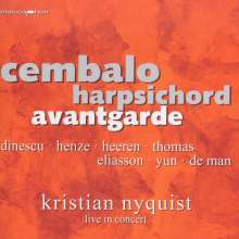 Kristian Nyquist - Cembalo Harpsichord Avantgarde, CD