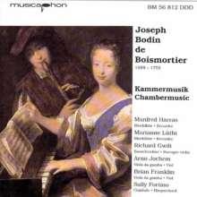 Joseph Bodin de Boismortier (1689-1755): Kammermusik, CD