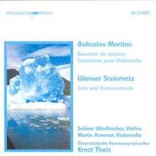 Werner Steinmetz (geb. 1959): Solo und Kammermusik, CD
