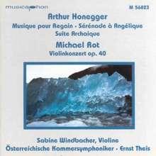 Michael Rot (geb. 1955): Violinkonzert op.40, CD