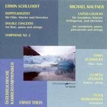 Erwin Schulhoff (1894-1942): Symphonie Nr.2, CD
