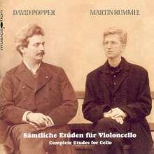 David Popper (1843-1913): Sämtliche Etüden für Cello, 3 CDs