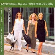 Trio Kairos - Klaviertrios der 20er Jahre, CD