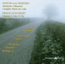 Anton Webern (1883-1945): Sämtliche Werke für Cello, CD