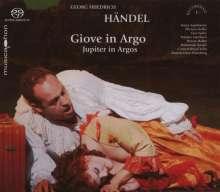 Georg Friedrich Händel (1685-1759): Jupiter in Argos (Opernpasticcio mit Einlagen von Francesco Araja), 2 SACDs