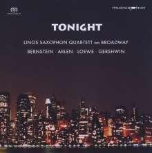 Linos Saxophon Quartett - Tonight, Super Audio CD