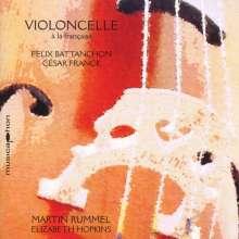 Martin Rummel - Violoncelle a la franciase, CD
