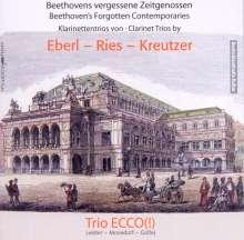 Anton Eberl (1765-1807): Trio op.36 für Klarinette,Klavier & Cello, CD