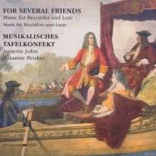 Musikalisches Tafelkonfekt - For Several Friends, CD