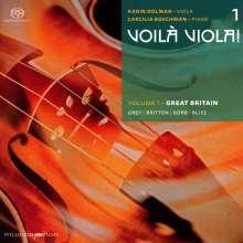 "Karin Dolman & Caecilia Boschman - Voila Viola! Vol.1 ""Great Britain"", SACD"