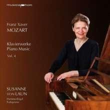 Franz Xaver Mozart (1791-1844): Klavierwerke Vol.4, CD