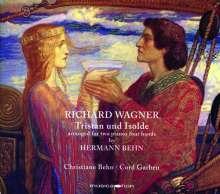 Richard Wagner (1813-1883): Tristan und Isolde-Transkription für 2 Klaviere, CD