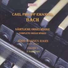 Carl Philipp Emanuel Bach (1714-1788): Sämtliche Orgelwerke Vol.1, CD