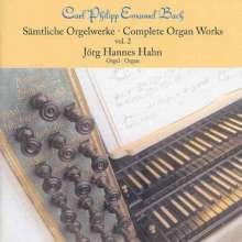 Carl Philipp Emanuel Bach (1714-1788): Sämtliche Orgelwerke Vol.2, CD