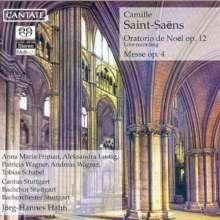Camille Saint-Saens (1835-1921): Oratorio de Noel op.12, SACD