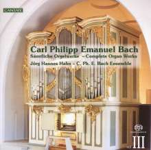 Carl Philipp Emanuel Bach (1714-1788): Sämtliche Orgelwerke Vol.3, Super Audio CD