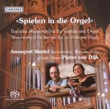 """Musik für Violine & Orgel - """"Spielen in die Orgel"""", SACD"""