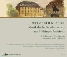 Weimarer Klassik – Musikalische Kostbarkeiten aus Thüringer Archiven, 3 CDs