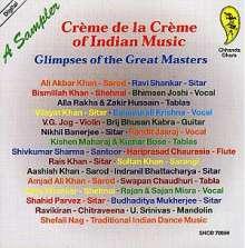 Creme De La Creme Of Indian Music, CD