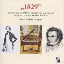 Gerrit Zitterbart - 1829, CD