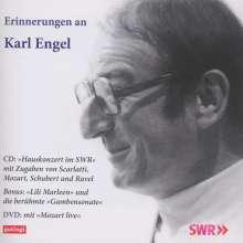 Erinnerungen an Karl Engel - Hauskonzert des SWR vom 27.4.89, 1 CD und 1 DVD