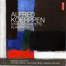 Alfred Koerppen (geb. 1926): Streichquartette Nr.1 & 2, CD