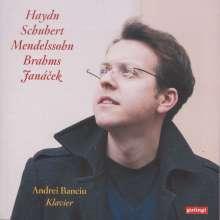 Andrei Banciu, Klavier, CD