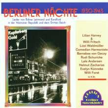 Berliner Nächte, CD