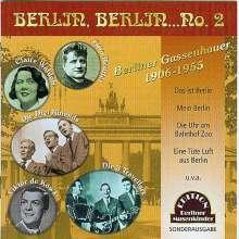 Berlin, Berlin No. 2, CD