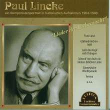 Paul Lincke (1866-1946): Paul Lincke - Ein Komponistenportrait in histor. Aufnahmen, CD