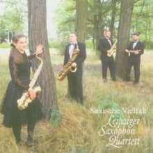 Leipziger Saxophon Quartett: Saxische Vielfalt, CD
