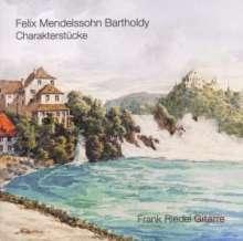 Felix Mendelssohn Bartholdy (1809-1847): Charakterstücke für Gitarre, CD