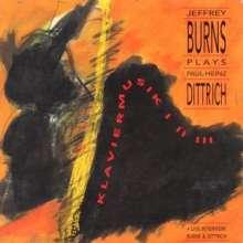 Paul Heinz Dittrich (1930-2020): Klaviermusik I-III, CD