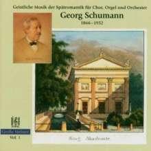 Georg Schumann (1866-1952): Geistl.Musik Der Spätro, CD
