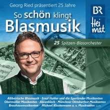 """25 Jahre """"So schön klingt Blasmusik"""", CD"""