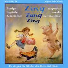 Biermösl-Blosn: Zing-Zang-Zing (Bayr. Kinderlieder), CD