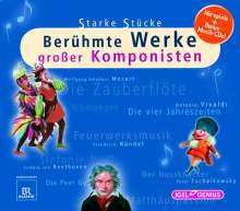 Starke Stücke - Berühmte Werke großer Komponisten, 16 CDs